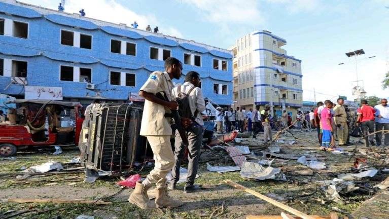 Somalia gamsung ah Car Bomb puakkham in mi 14 in sihlawh, tampi liam