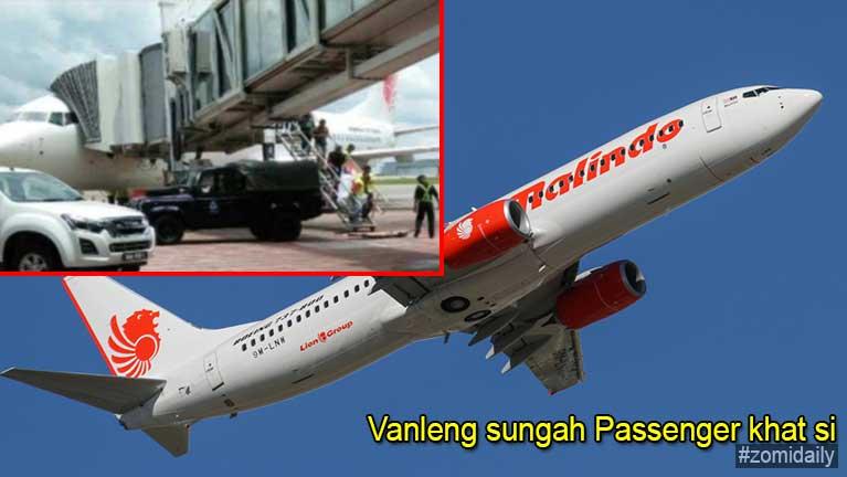 Kuala Lumpur pan Kuching azuan vanleng sungah Passenger khat si