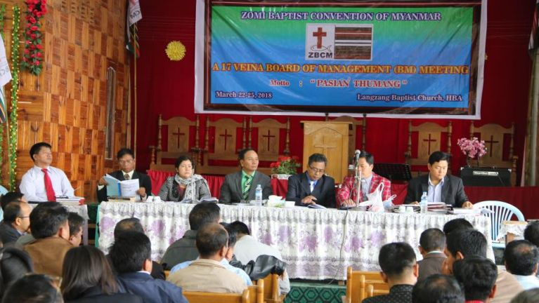 Langzang khua ah ZBCM Board of Management Meeting