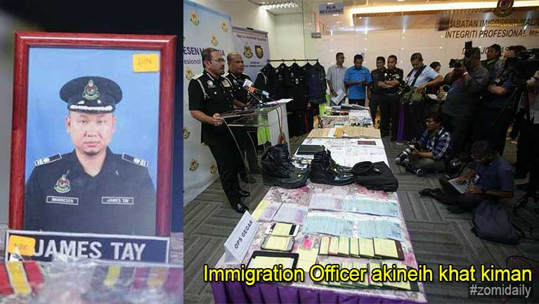 Malaysia ah Immigration Officer akineih pasalkhat kiman