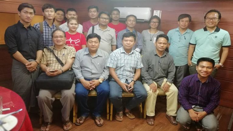 Zomi Media Nasem te Yangon ah Kimuhkhopna