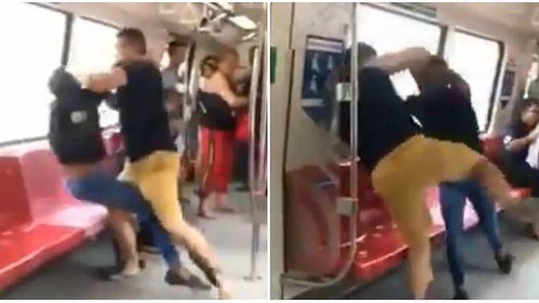 Singapore MRT meileng sungah mikibuan 2 te Police te'n kansan