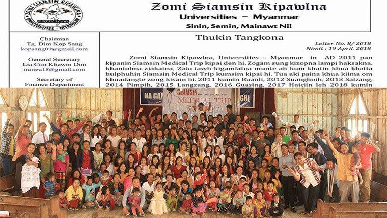 Zomi Siamsin Kipawlna panin ZRA vaitawh kisai Thukin Tangkona