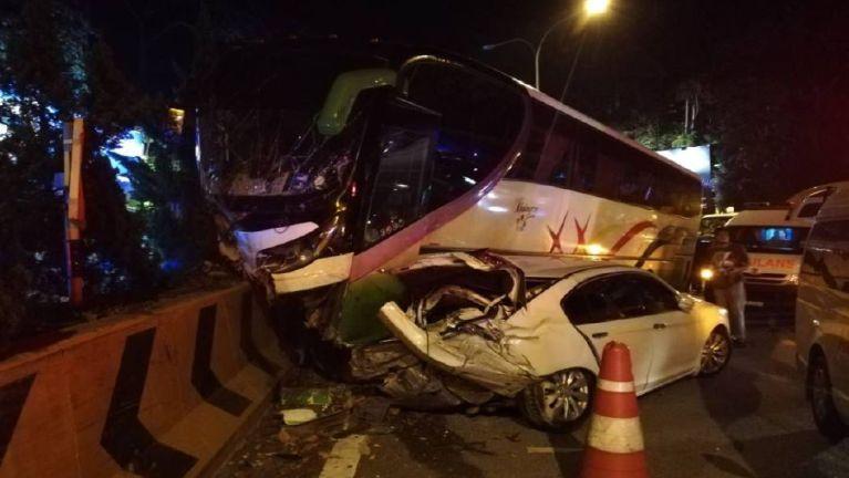 Malaysia Genting Highlands pan aciahsuk Bus golpikhat tuahsia, mi 23 liam