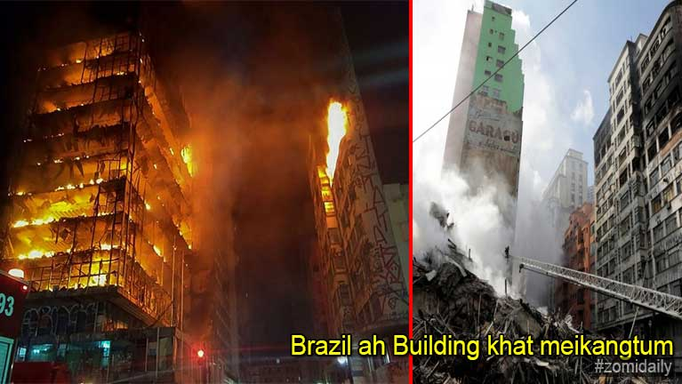 Brazil ah inndawl 24 aphakhat meikang in akicipsuk zaizai laitak Video kizaihkha, mi 1 si