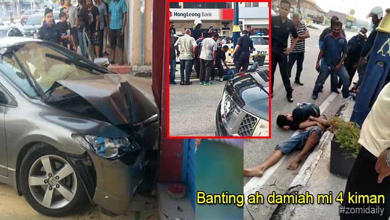 Malaysia Banting vengsung ah damiah mi 4 kiman, khat kikapliam