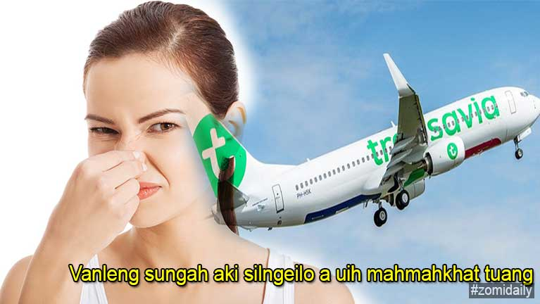 Transavia vanleng sungah aki silngeilo a uihgawpkhat hangin Emergency Landing kibawl
