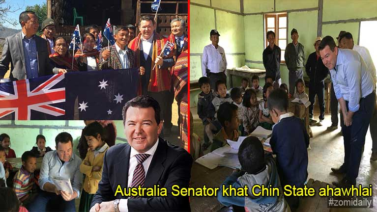 Australia Senator khatin Chin State gambel te vaitawh kisai UNHCR zumpi Geneva ah laikhaksak