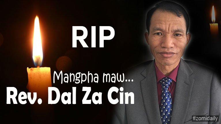 Mualnuam khuami Rev. Dal Za Cin (Munlai Zion UPC) in hongnusia