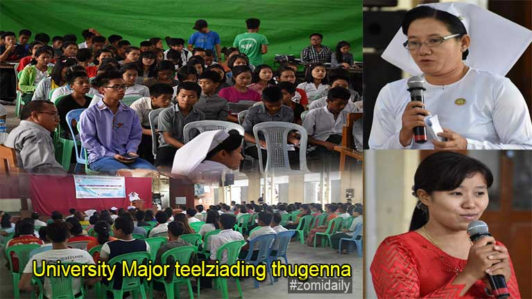 University Major telzia dingtawh kisai thugenna nuamtak kizo