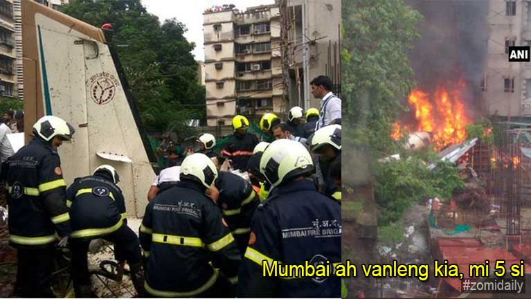 India, Mumbai khuasung ah vanleng khat kiasuk in mi 5 si