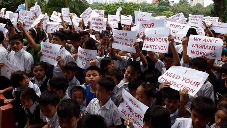 Malaysia gamsung aom Chin State bup gambel kipawlna ICC makai te leh UNHCR makaipi ki muhkhopna