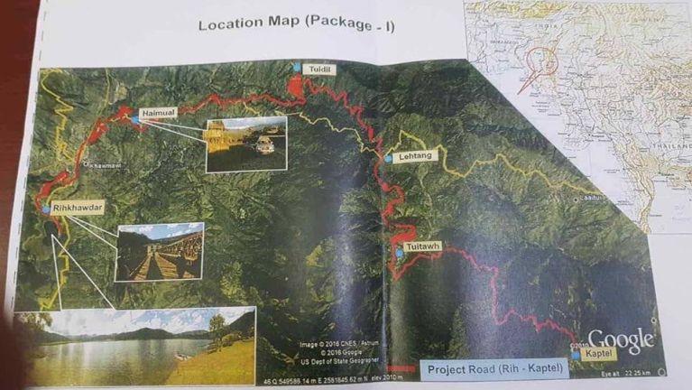 Rih – Tedim Road India & Myanmar (ASEAN) Highway pi ~ Dr. James Dongno