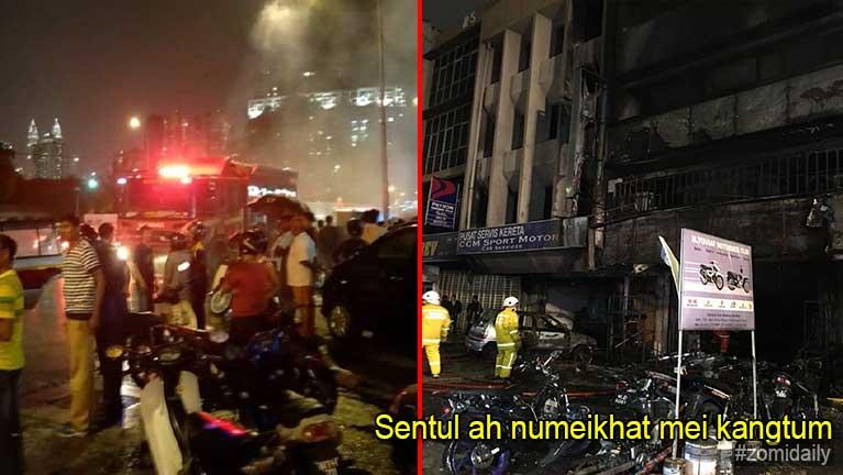 Malaysia, Sentul aom Motorcycle zuakna meikang, numei khat kangtum