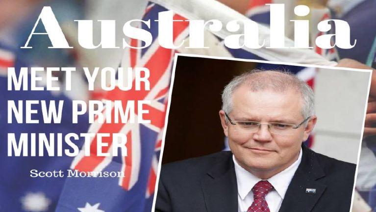 A (30) na Australia Prime Minister thak Scott Morrison