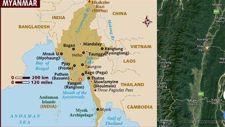 Theihhuai Kabaw Valley thu ~ J. Thang Lian Pau