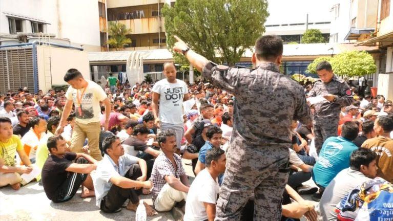 Malaysia gambup ah Operasi kibawl kawikawi, mi 500 val kimankhin