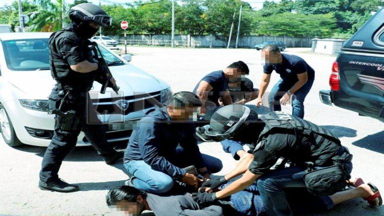 Malaysia gamsung ah migilo ngongtatna Terrorism tawh akizom mi 5 kiman