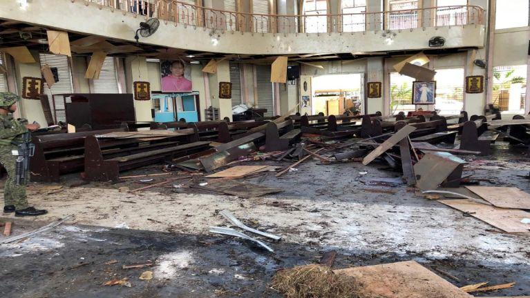 Philippines biakinn sungah Bomb puakkham in mi 18 si, 83 liam