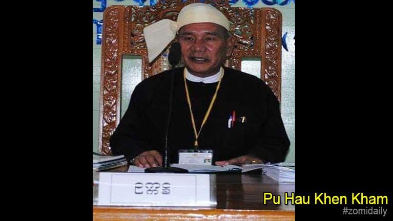Mipi ading a hangsan Pu Hau Khen Kham (Ngaihte)