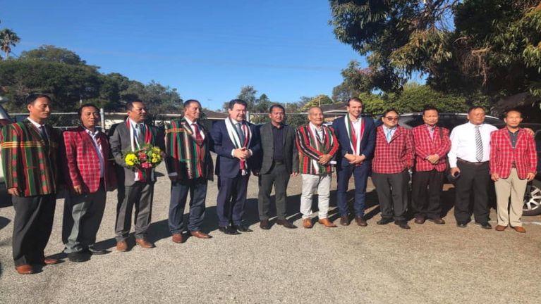 Australia, Perth Siyin Baptist Church ah Senator (Hlutdaw MP) Dean Smith vahawh
