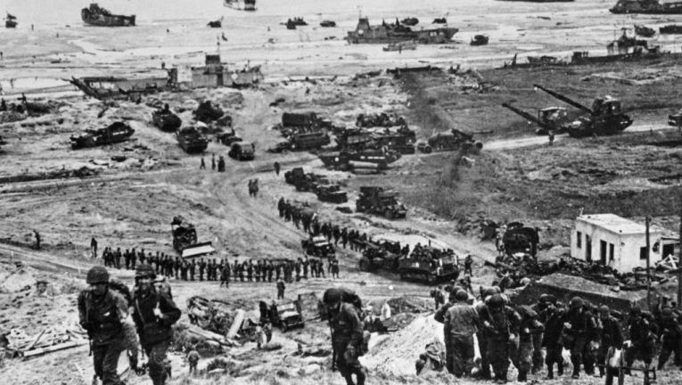 75th D Day Landing – 6th June (They will never grow old)
