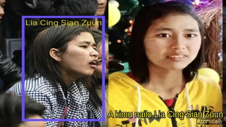 A kimu nailo Lia Cing Sian Zuun (Missing Person alert)