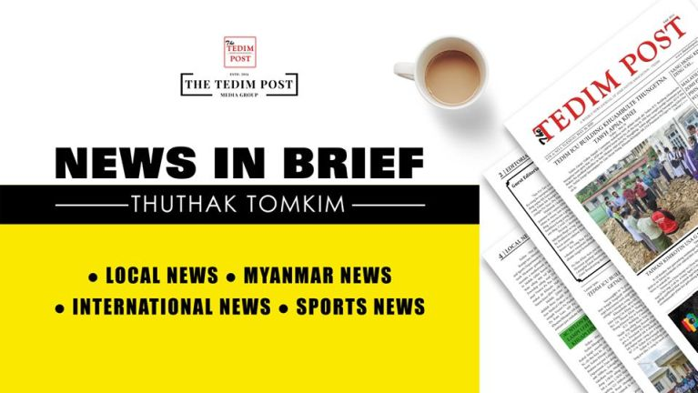 News In Brief: Thuthak tomkim ~ The Tedim Post (26 Sep)