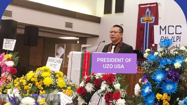 USA, Colorado pan Pa Johnny Kam Cin Pau (Phaitu, Thangmaan) in hongnusia