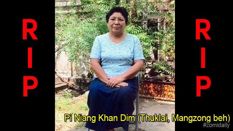 USA, Maryland pan Pi Niang Khan Dim (Thuklai, Mangzong beh) in hongnusia