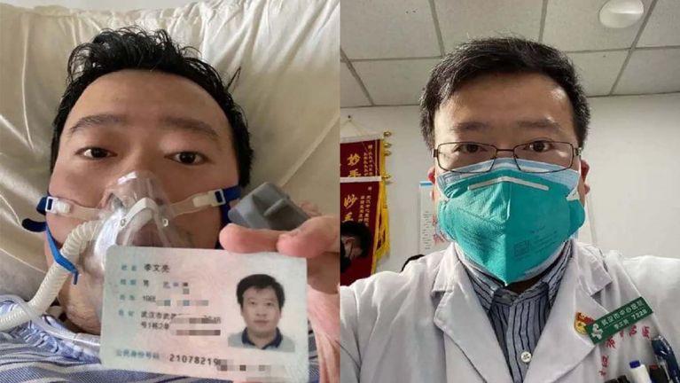Dr. Li Wenliang hun nunung ~ Gin Za Go