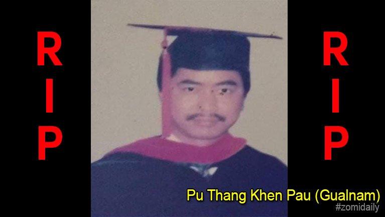 USA, California pan Pu Thang Khen Pau (Seitual, Gualnam) in hongnusia